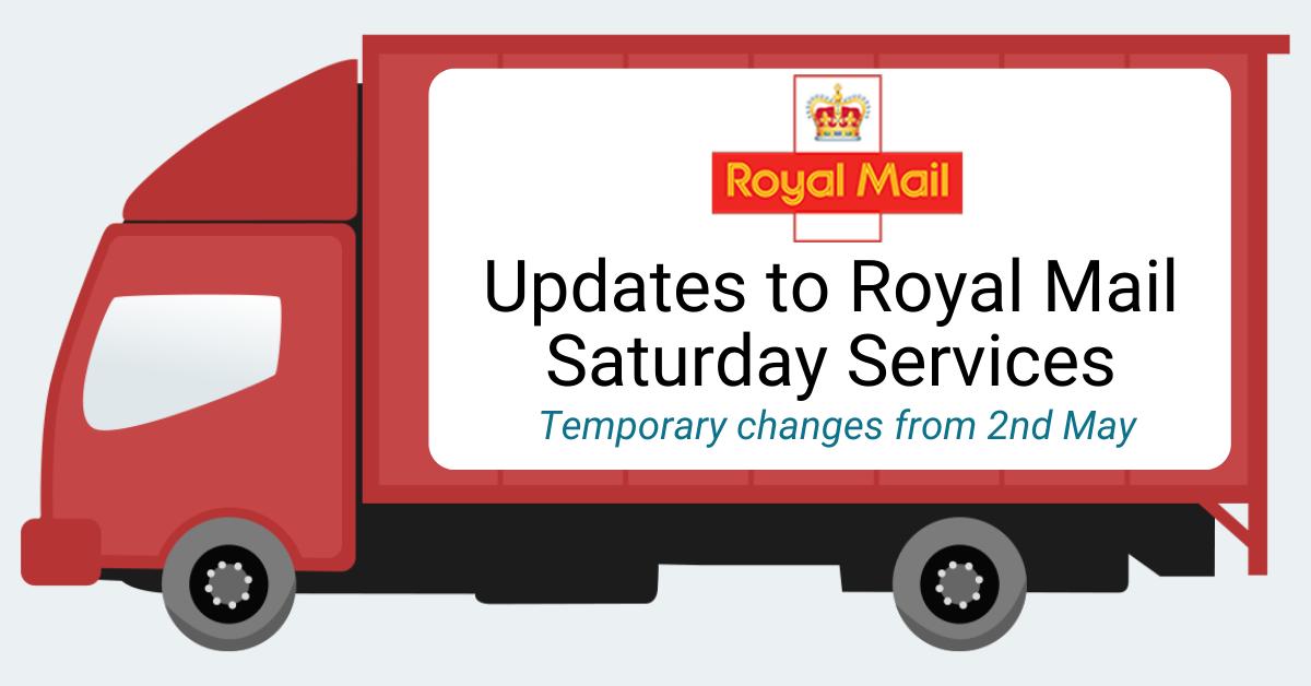 Royal Mail Saturday Updates